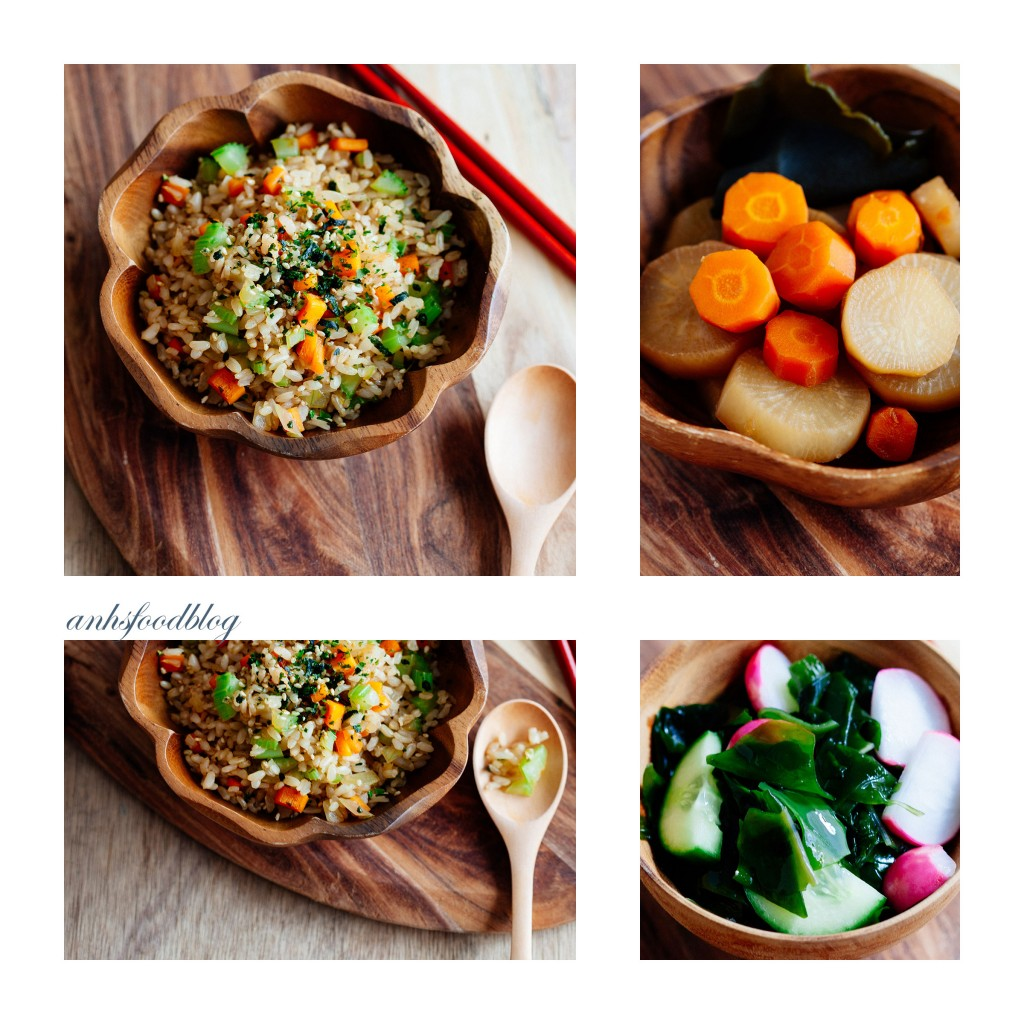 3 awesome macrobiotic recipes: Fried brown rice, Vegie stew & more!